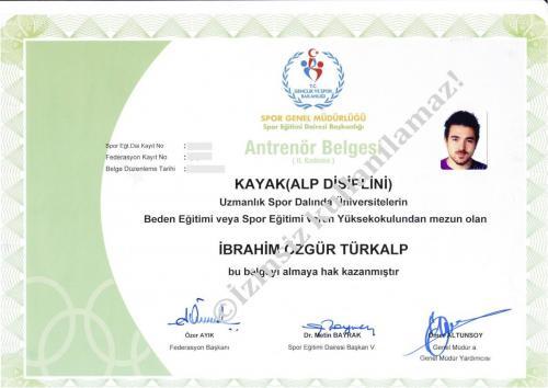 Alpine Ski Coach Certification (Alp Disiplini Kayak Sertifikası)
