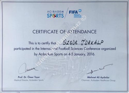 Football Sciences Conference (Futbol Bilimleri Konferansı)